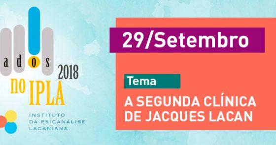 Sábados no IPLA - Setembro/2018